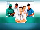 Medical Review PPT PowerPoint Template Background