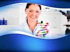 Molecular Scientist PPT PowerPoint Template Background