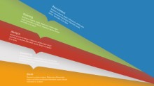 PowerPoint Infographic - Folders