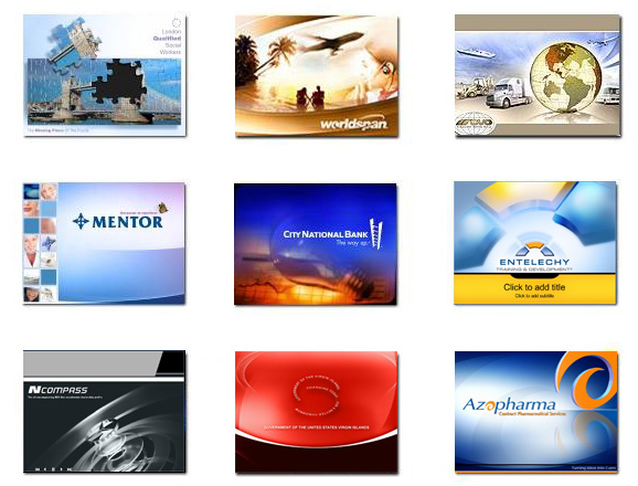 PresentationPro Custom PowerPoint Templates