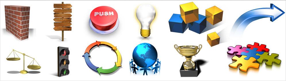 the best presentation graphics clipart from PresentationPro