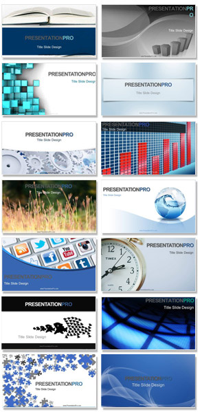 PresentationPro new PowerPoint templates and PPT background themes