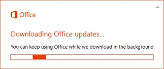 Office Updates Disabled