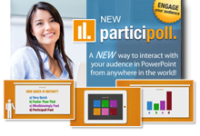participoll unlimited audience polling in PowerPoint.