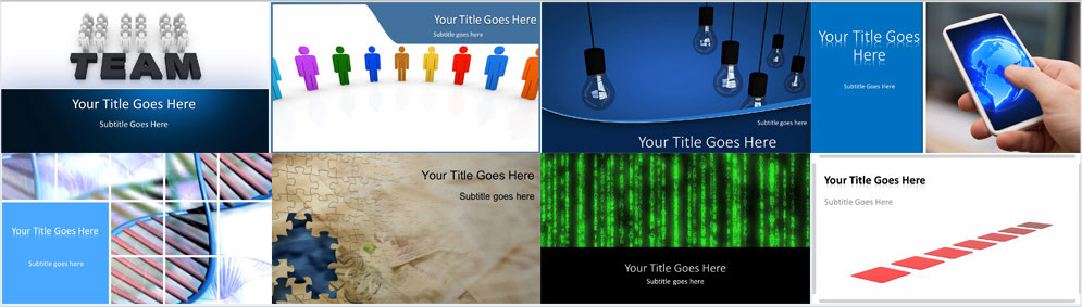 the best powerpoint animated templates backgrounds from PresentationPro