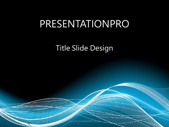 Glow Flow Wave Powerpoint Template Background In Abstract Lines And Curves Powerpoint Ppt Slide Design Category The Best Powerpoint Templates And Backgrounds At Presentationpro Com