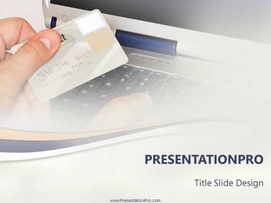 Online Shopping Powerpoint Template Background In Business