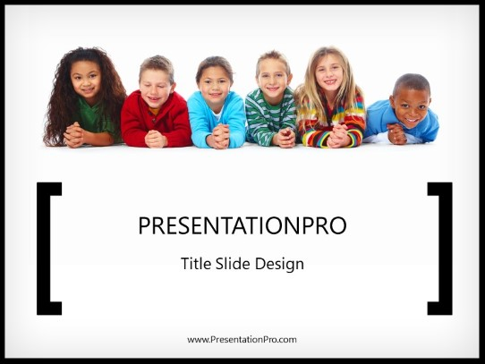 Powerpoint Templates All About Kids Education Template Presentation Designs From Presentationpro