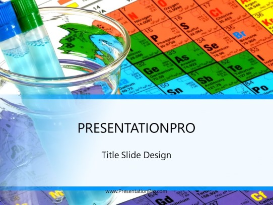 Chemistry Class Powerpoint Template Background In Education