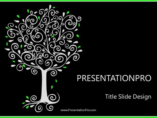 filigree powerpoint template background in environmental powerpoint