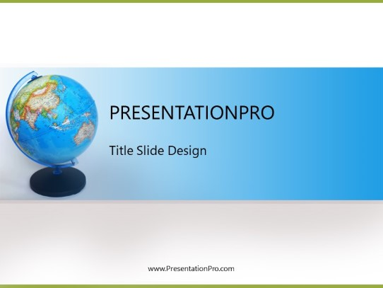 Asia Globe Stand Powerpoint Template Background In Global Powerpoint