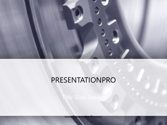 Manufacturing Focus PowerPoint template background in Industry