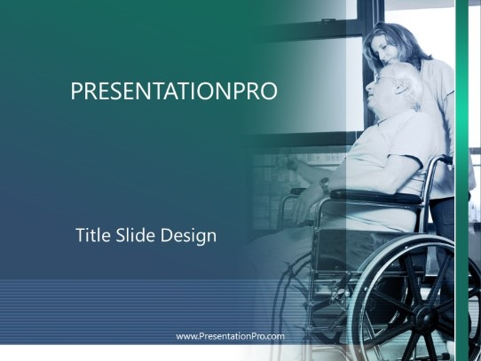 Home Care Powerpoint Template Background In Medical