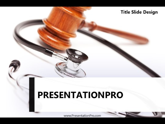 Medical Legal 01 Powerpoint Template Background In Medical