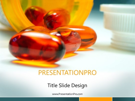 Medication Powerpoint Template Background In Medical