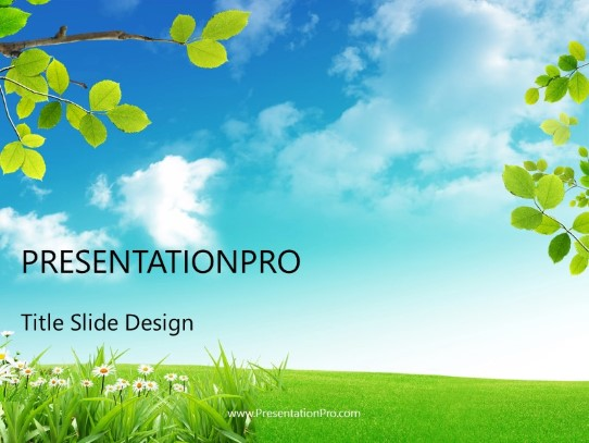 nature landscape powerpoint template background in nature powerpoint