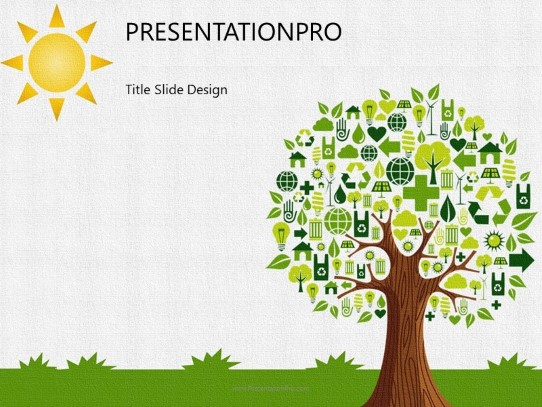 Recycle Concept Powerpoint Template Background In Nature Powerpoint Ppt Slide Design Category The Best Powerpoint Templates And Backgrounds At Presentationpro Com