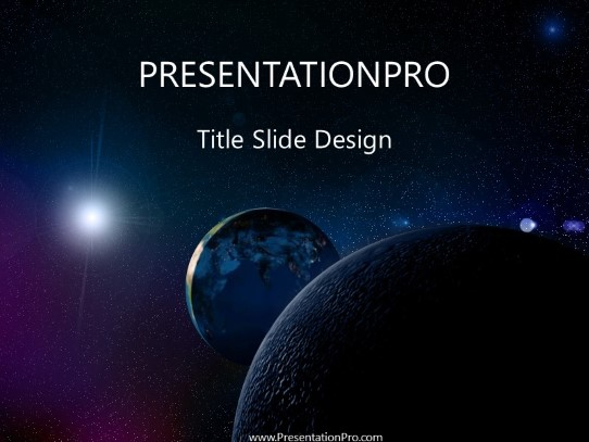 space powerpoint template background in nature powerpoint