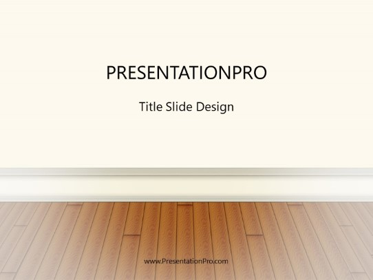 Wood Floors Powerpoint Template Background In Real Estate
