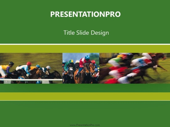 Derby Powerpoint Template Background In Sports And Leisure