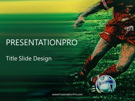 soccer powerpoint template background in sports and leisure powerpoint ppt slide design category
