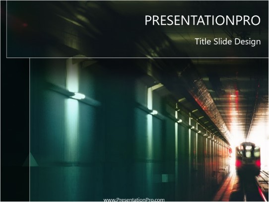 train 03 powerpoint template background in transportation powerpoint