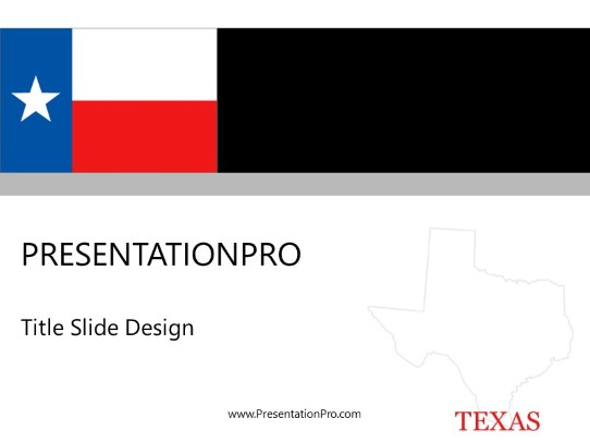 texas powerpoint template background in us cities and states
