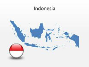 download high quality royalty free indonesia powerpoint map shapes