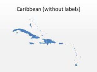 download high quality royalty free caribbean 2 powerpoint map shapes