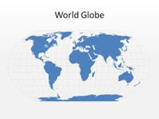 download high quality royalty free world globe powerpoint map shapes