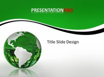 download royalty free animated conservation globe animated, Powerpoint templates