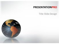 download royalty free animated reflection globe animated, Modern powerpoint