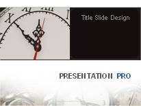 Animated Time Never Stops PPT PowerPoint Animated Template Background