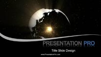 Global 0941 Widescreen PPT PowerPoint Animated Template Background