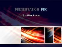 Animated Streak On Black Tribox Dark PPT PowerPoint Animated Template Background