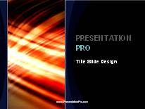 Animated Streak On Black Vertical Dark PPT PowerPoint Animated Template Background