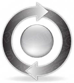 Download arrowcycle a 2gray PowerPoint Graphic and other software plugins for Microsoft PowerPoint