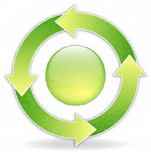 Download arrowcycle b 4green PowerPoint Graphic and other software plugins for Microsoft PowerPoint