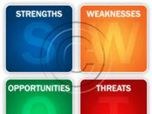 SWOT Analysis Multi PPT PowerPoint picture photo