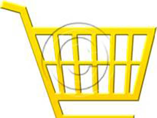 Shopping Cart Style Yellow PPT PowerPoint picture photo