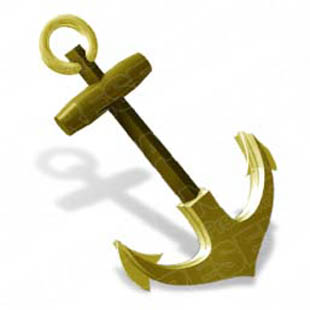 Download Anchor A Gold PowerPoint Graphic And Other Software Plugins For Microsoft
