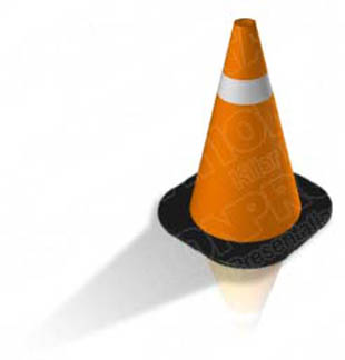 Download construction cone 02 PowerPoint Graphic and other software plugins for Microsoft PowerPoint