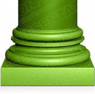 Download column02 green PowerPoint Graphic and other software plugins for Microsoft PowerPoint