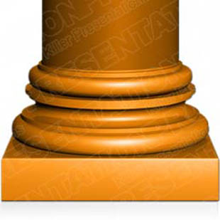 Download column02 orange PowerPoint Graphic and other software plugins for Microsoft PowerPoint