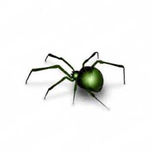 Download spider green PowerPoint Graphic and other software plugins for Microsoft PowerPoint