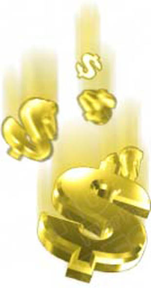 Download High Quality Royalty Free Dollar Signs Gold