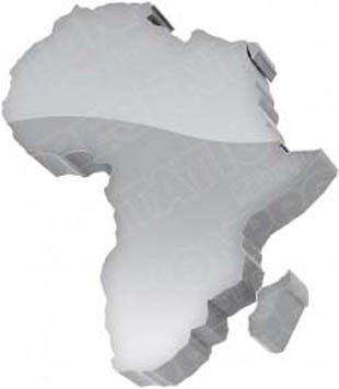 Map Of Africa 3d.Download High Quality Royalty Free Map Africa Grey Powerpoint