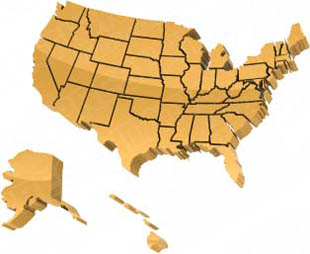 Download High Quality Royalty Free Map Usa Borders Orange ...