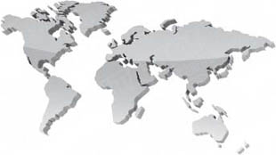 Powerpoint Global Map.Download High Quality Royalty Free Map World Grey Powerpoint