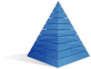 Download pyramid a 10light blue PowerPoint Graphic and other software plugins for Microsoft PowerPoint